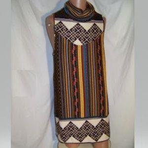 Cowl Neck Sleeveless Mini Dress - Festival Wear!